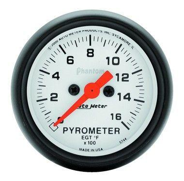 auto meter phantom pyrometer gauge kit, 0 1600 degrees, electrical Auto Meter Speedometer Wiring Diagram auto meter phantom pyrometer gauge kit, 0 1600 degrees, electrical