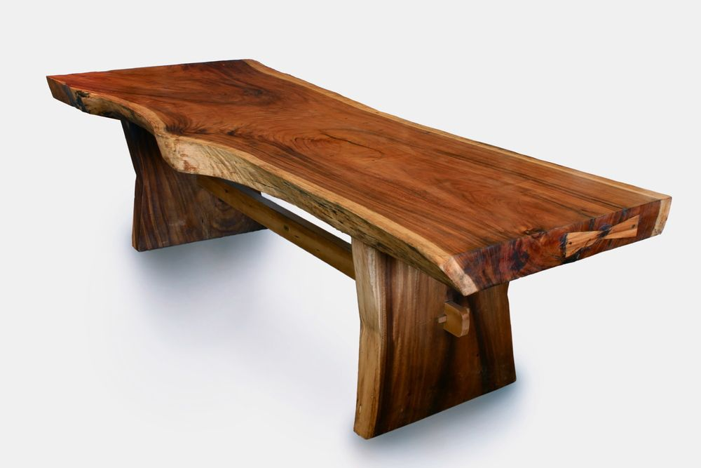 Natural Wood Dining Table Live Edge Room Furniture With: Live Edge Furniture - Google Search