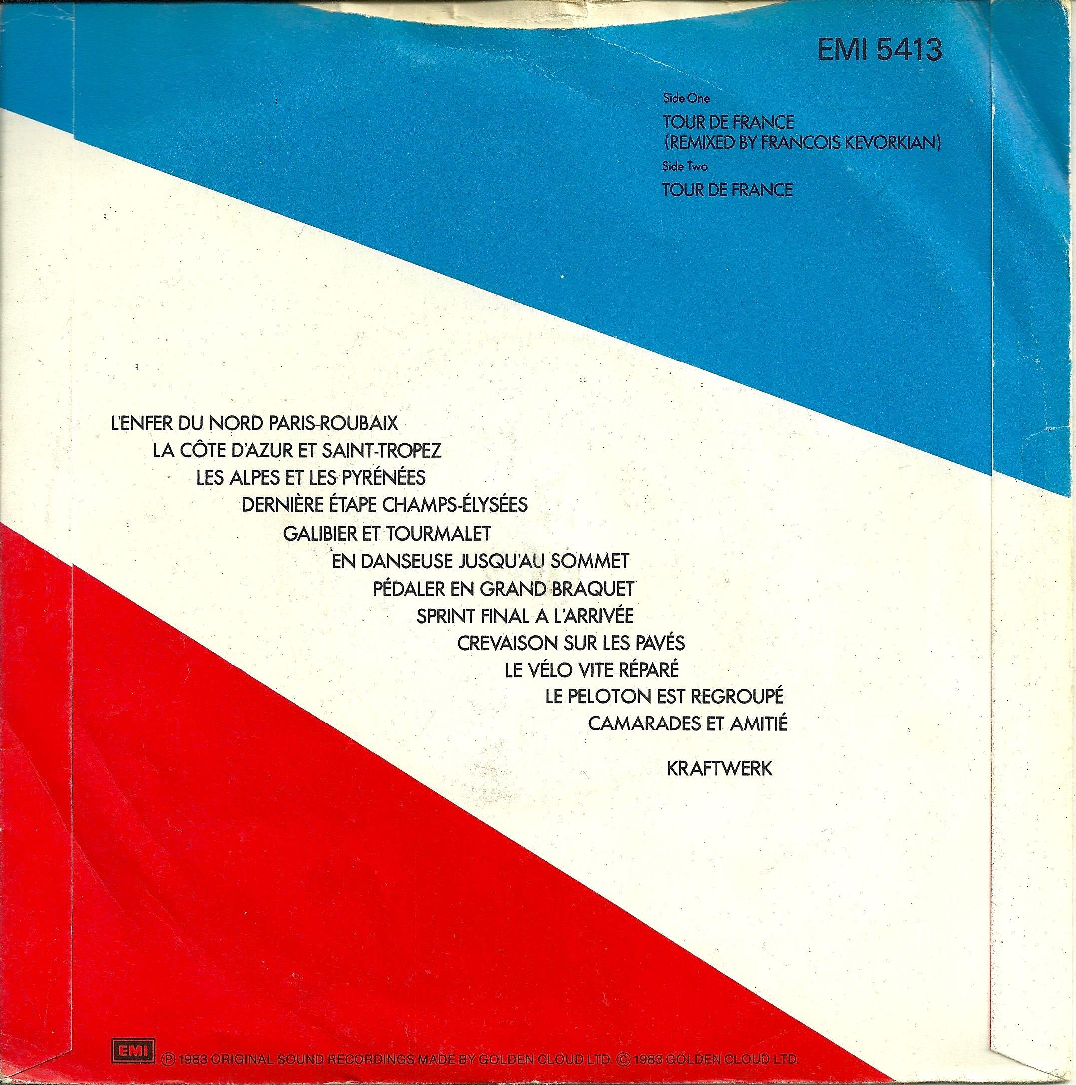 Kraftwerk Tour De France 1983 Back With Sing A Long Lyrics Tour De France Kraftwerk Lyrics