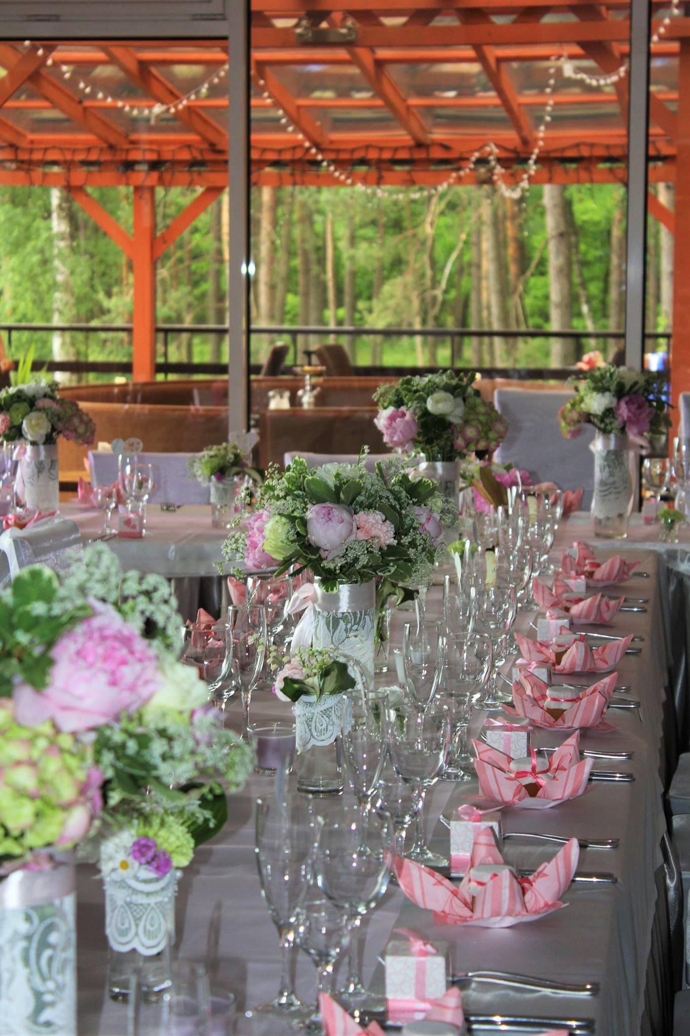 Wedding Decor Kaunas Lagoon Lithuania Vestuviu Pobuvis Restorane Jachtklubas