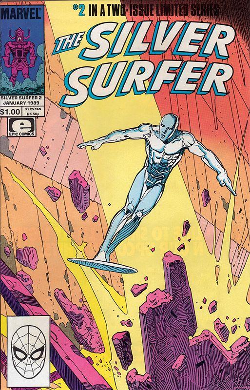 Silver Surfer 2 Silver Surfer Comic Silver Surfer Surfer