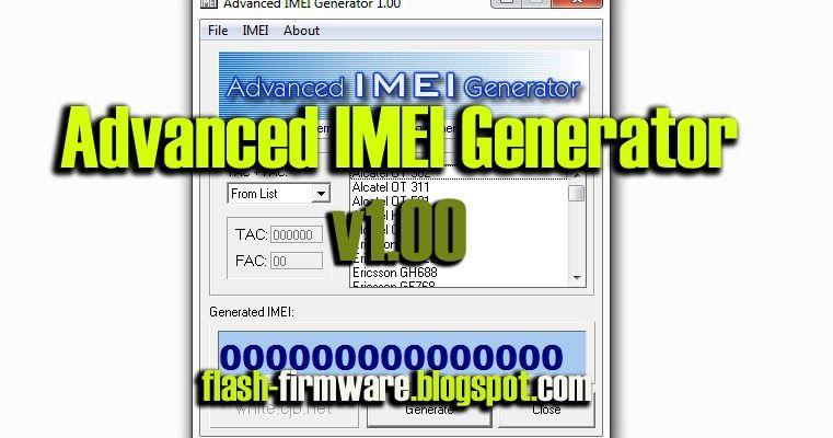 DownloadAdvanced IMEI Generator Feature: Advanced IMEI Generator