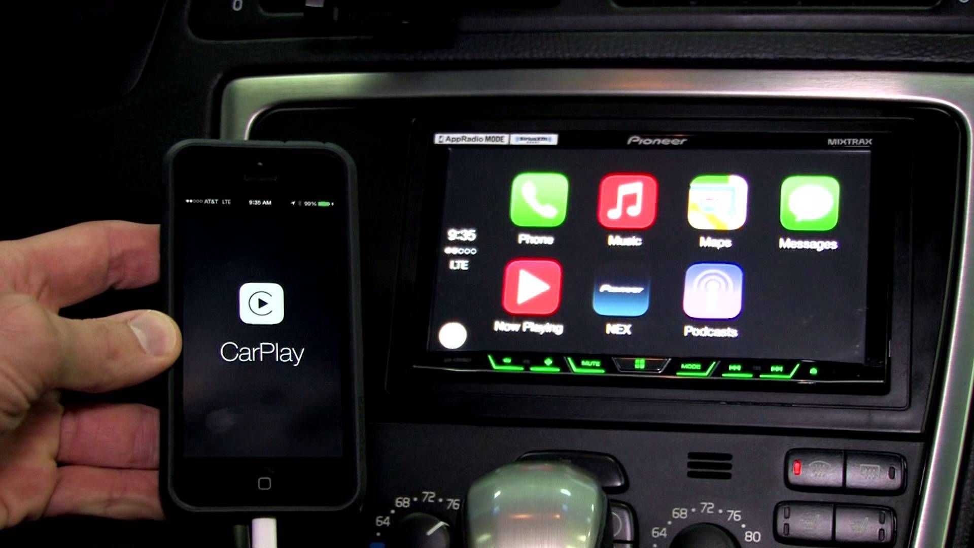 Use your iPhone apps on your car's touch screen. Apple