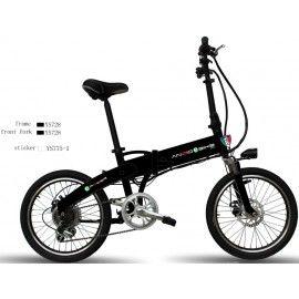 Anzio F16 Sochi Foldable Bike For Easy Transportation Electric