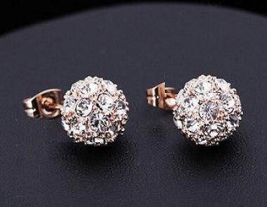 swarovski kristaller örhängen
