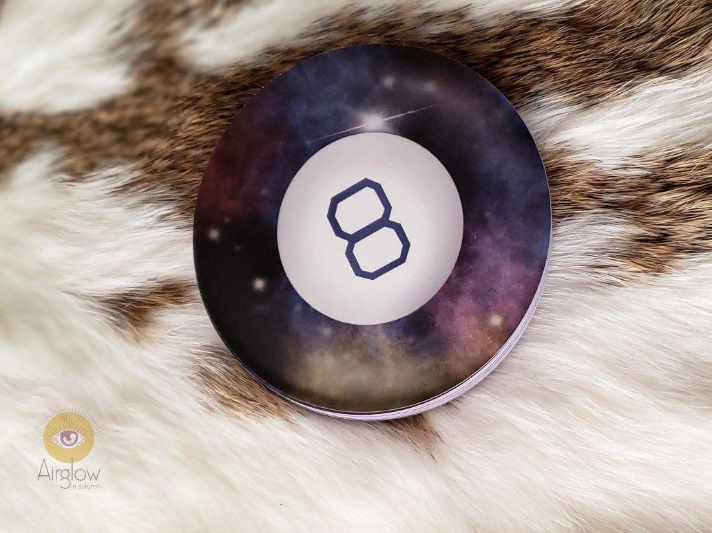 Preorder magic 8 ball round circle oracle tarot card deck
