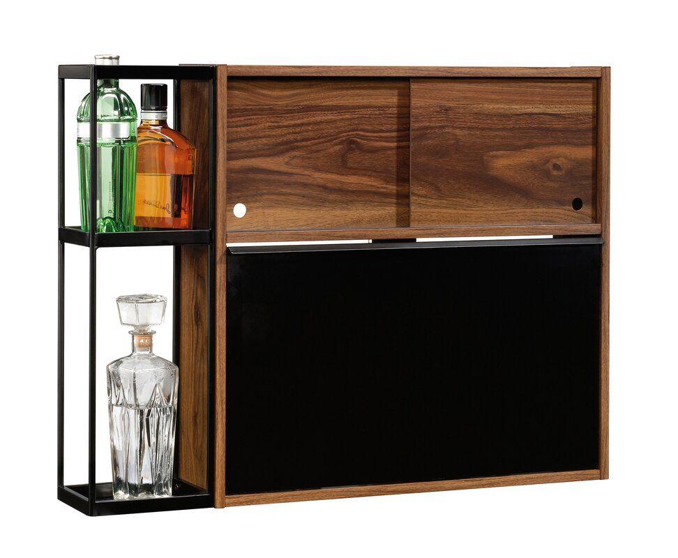 Kellie Wall Bar Aaron In 2019 Wall Bar Corner Bar Cabinet
