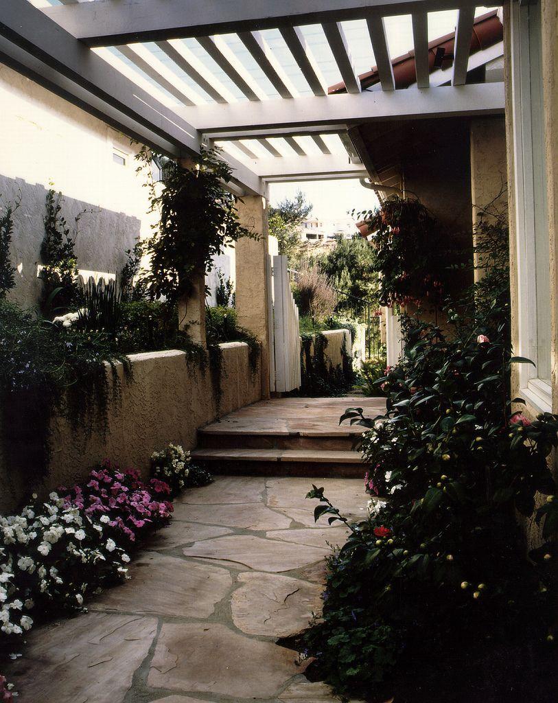 Shaded side yard | Side yard, Pergola, Backyard on Side Yard Pergola Ideas id=46364