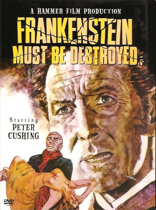 Frankenstein Must Be Destroyed 1969 Peter Cushing