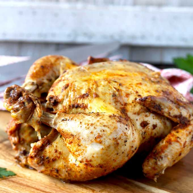 This Pressure Cooker Whole Chicken Is Easy, Juicy, Tender