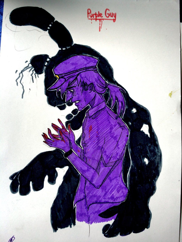 Phone guy x purple guy fanfic lemon - Purple Guy By Rosharp