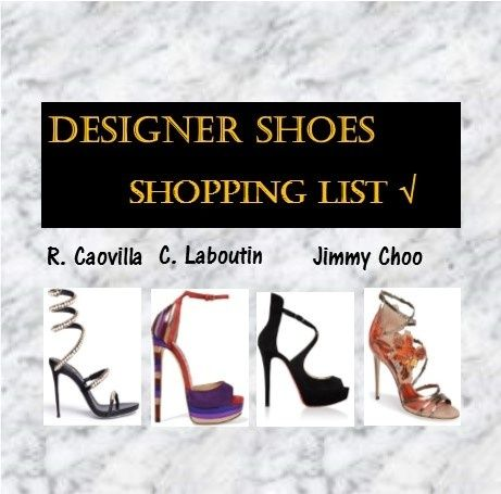 Husband's Shopping List #hottestdesignershoes#musthave#husband'sshoppinglist
