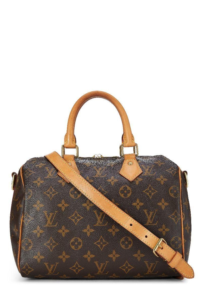 Louis Vuitton Monogram Canvas Speedy Bandouliere 25 Louisvuitton Bags Shoulder Bags Hand Bags Canvas Leather Lining Louis Vuitton Monogram Louis Vuitton Pre Owned Louis Vuitton
