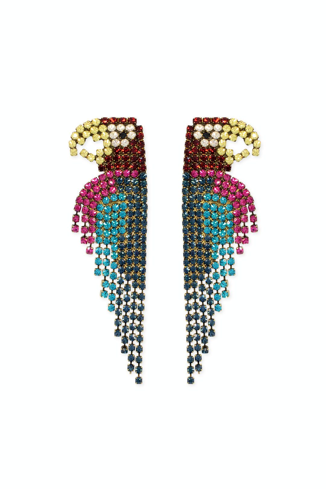 Elizabeth Cole Pretty Parrot Earrings