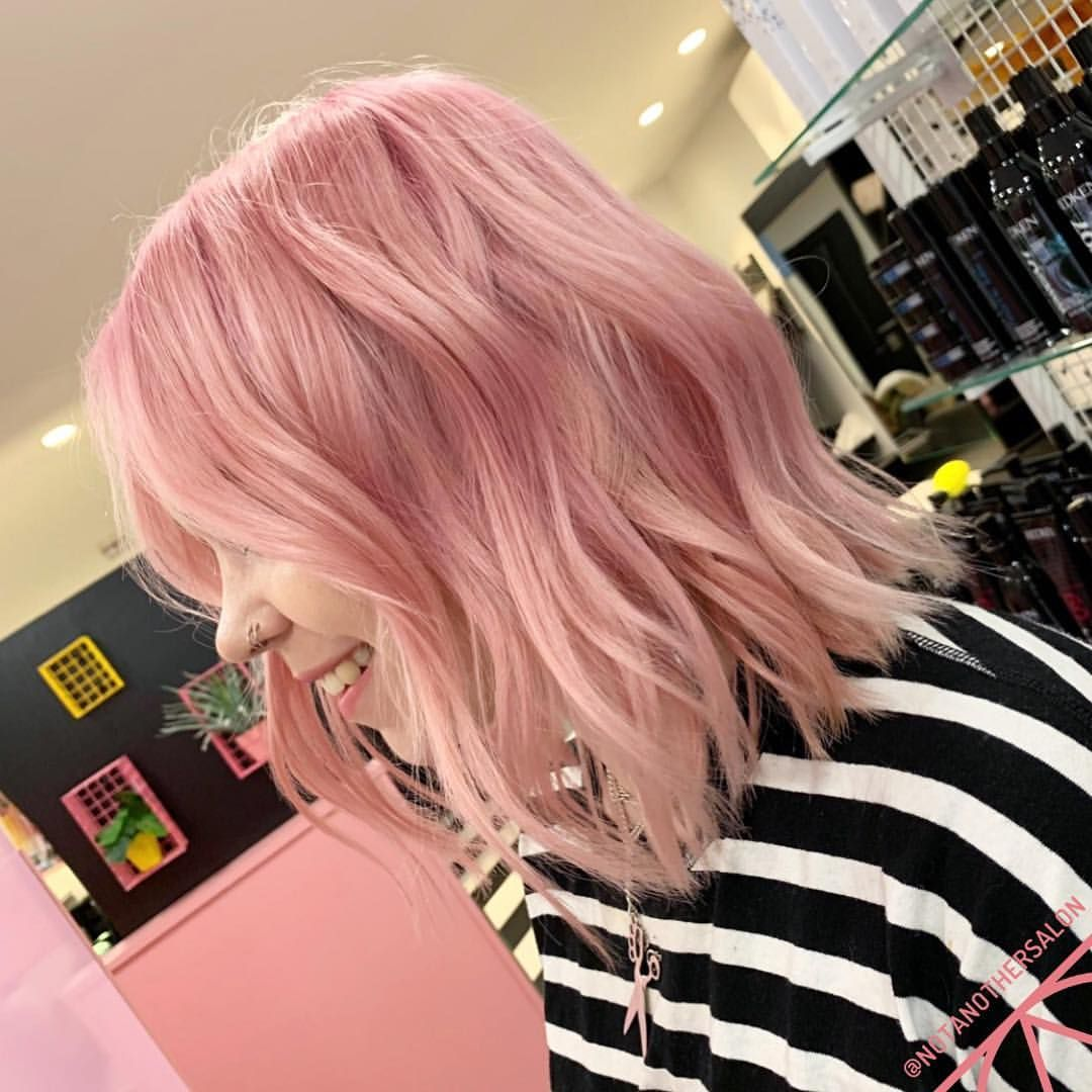 How Dreamy Is Harriet S New Colour Allofthepink Pinktomaketheboyswink Colour By Danielwinborn Using In 2020 Hair Dye Colors Hair Styles Hair Looks