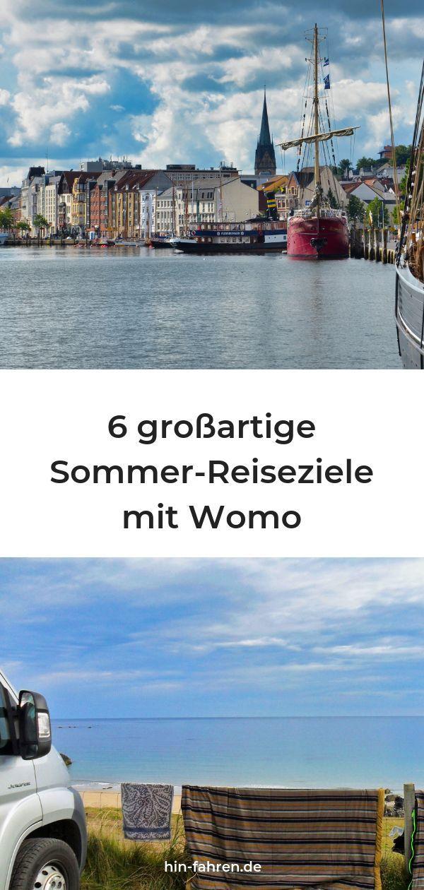 Photo of Sommer: 6 Regionen für Urlaub mit Wohnmobil in den Ferien