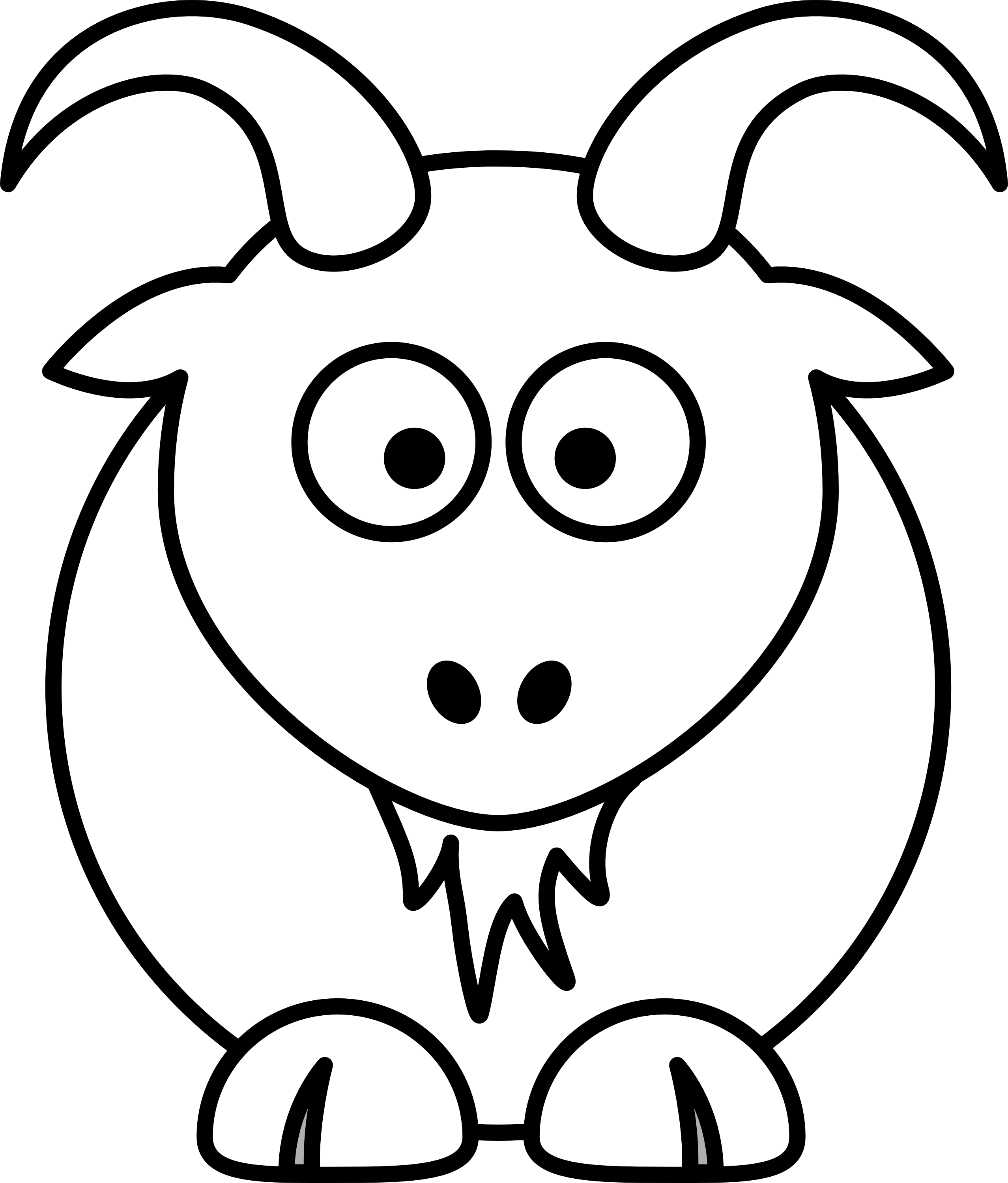 Animals Clipart Black And White Clipart Best Felting