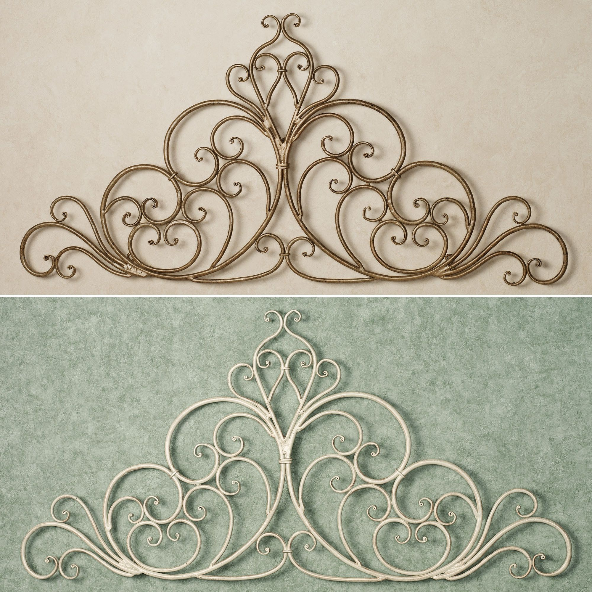 Wrought Iron Wall Scrolls Amazing Wrought Iron Wall Designs  Arround Homes  Luvin' Me Some