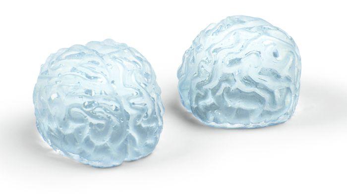 Brain shaped ice cube trays!