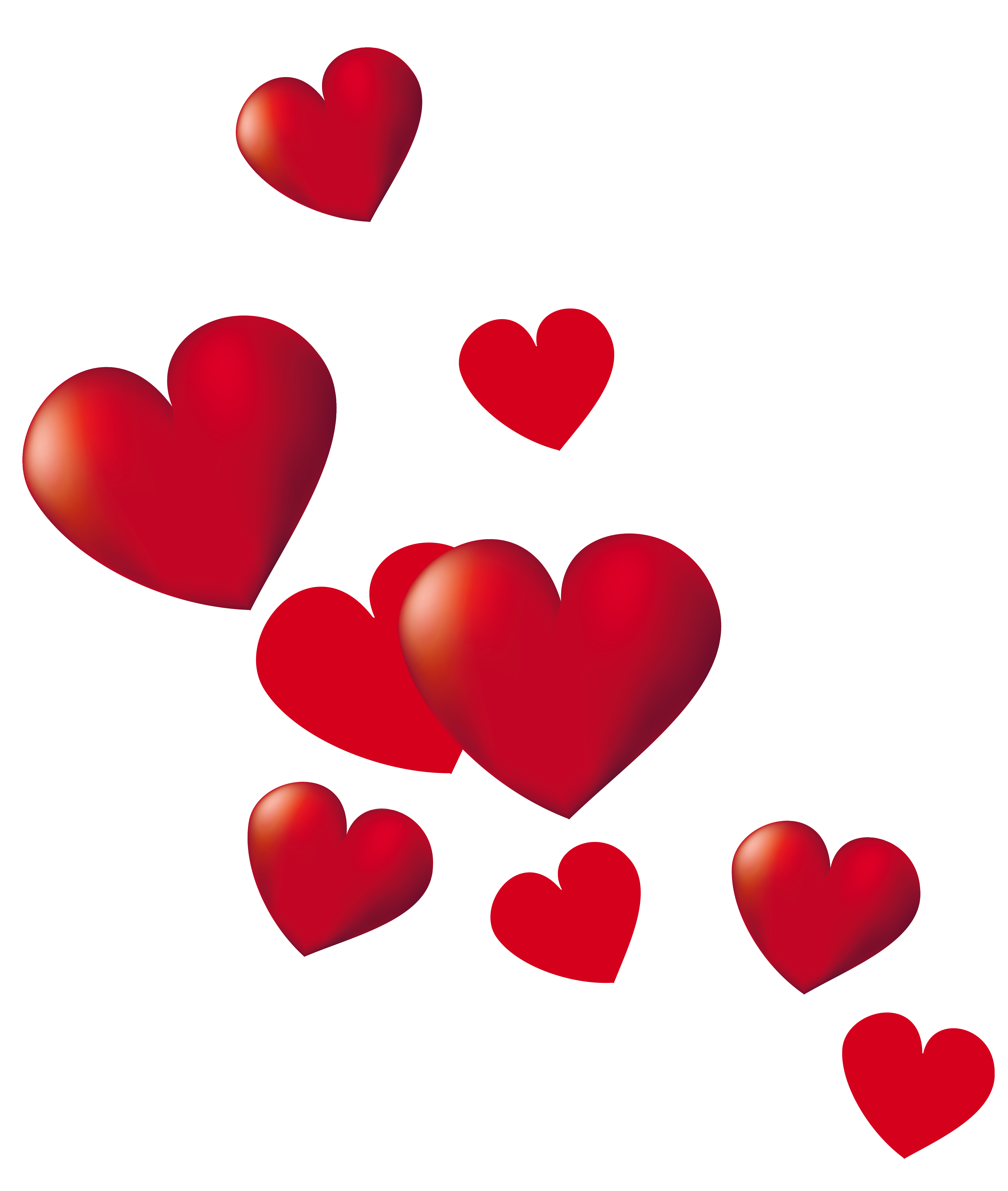 Free Vector Graphic Hearts Trail Valentine Romantic Free Png