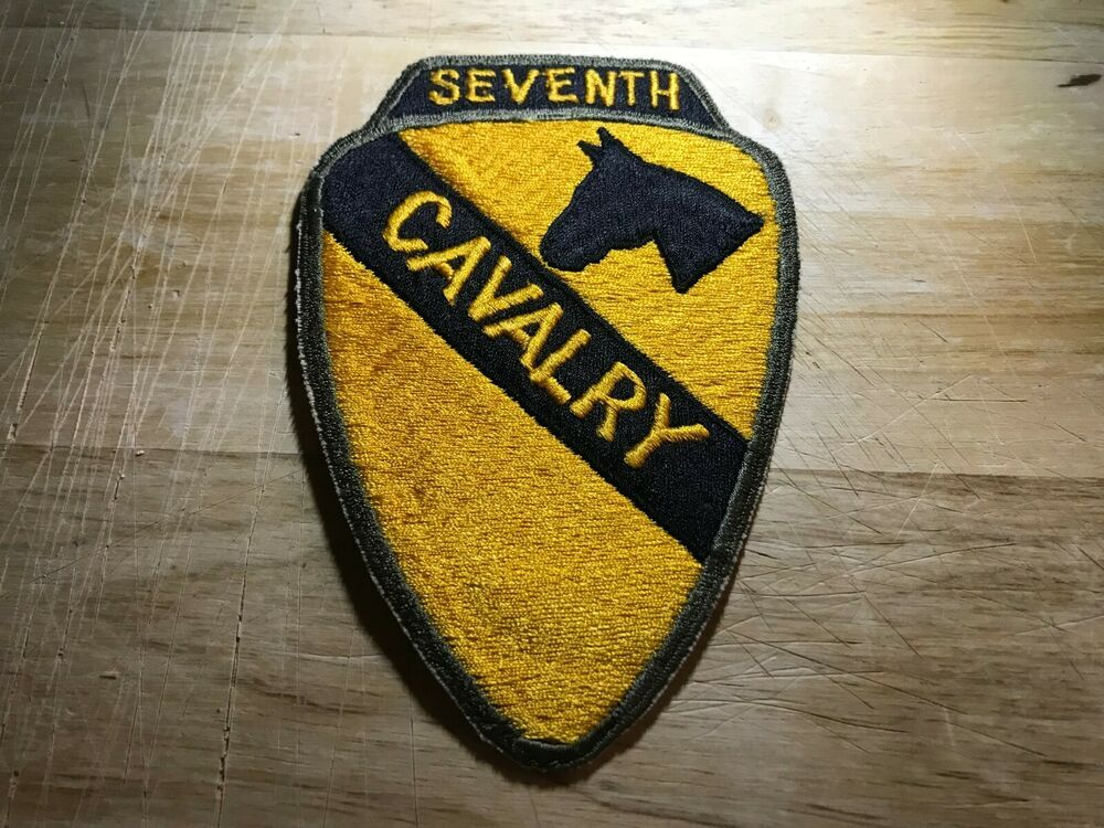 Cold War Vietnam Us Army Patch 7th Seventh Cavalry Regiment Original Beauty Us Army Patches Army Patches Military Insignia