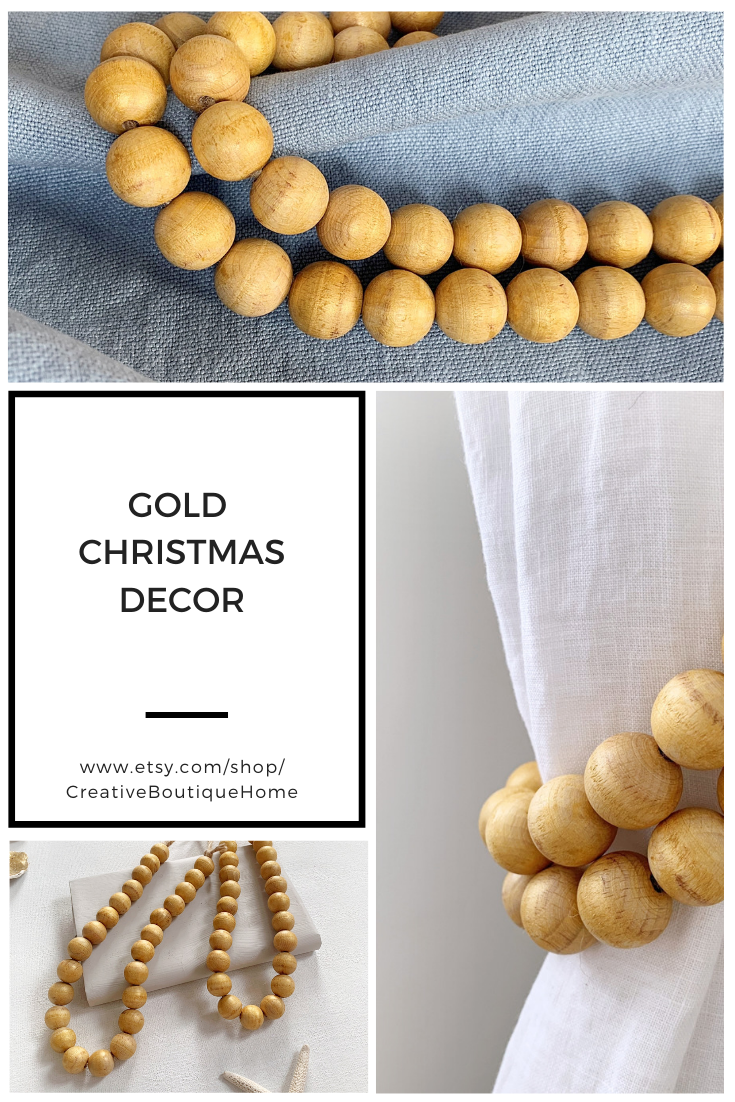 gold Christmas decor #modernvictoriandecor