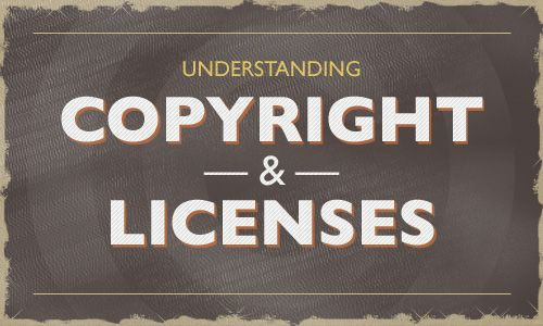 Everyone should read this. Understanding Copyright And Licenses