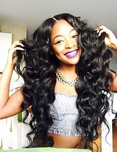 8A Premium Hair Weave Brazilian Hair Bundles Loose Curls ...