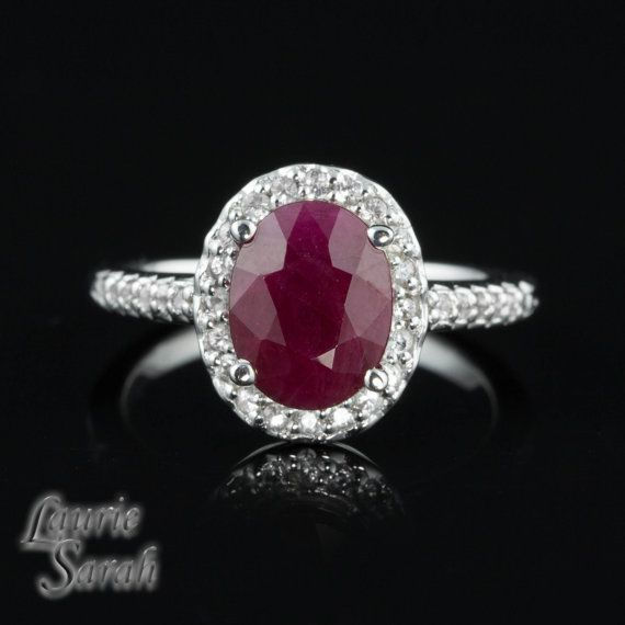 Best 25 Ruby Engagement Rings Ideas On Pinterest Ruby