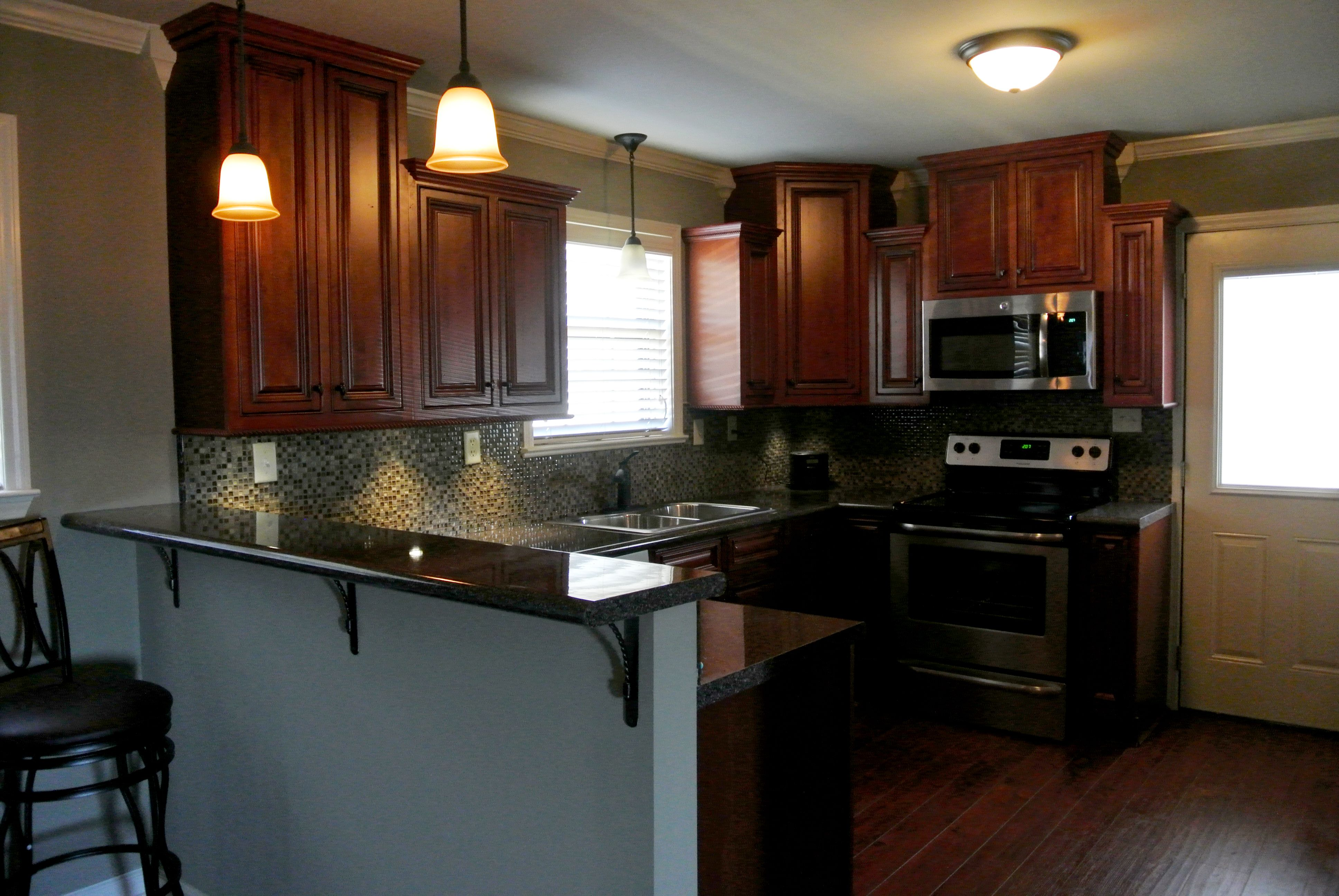 Kitchen remodel by Laura T. of Montgomery, AL. The ...