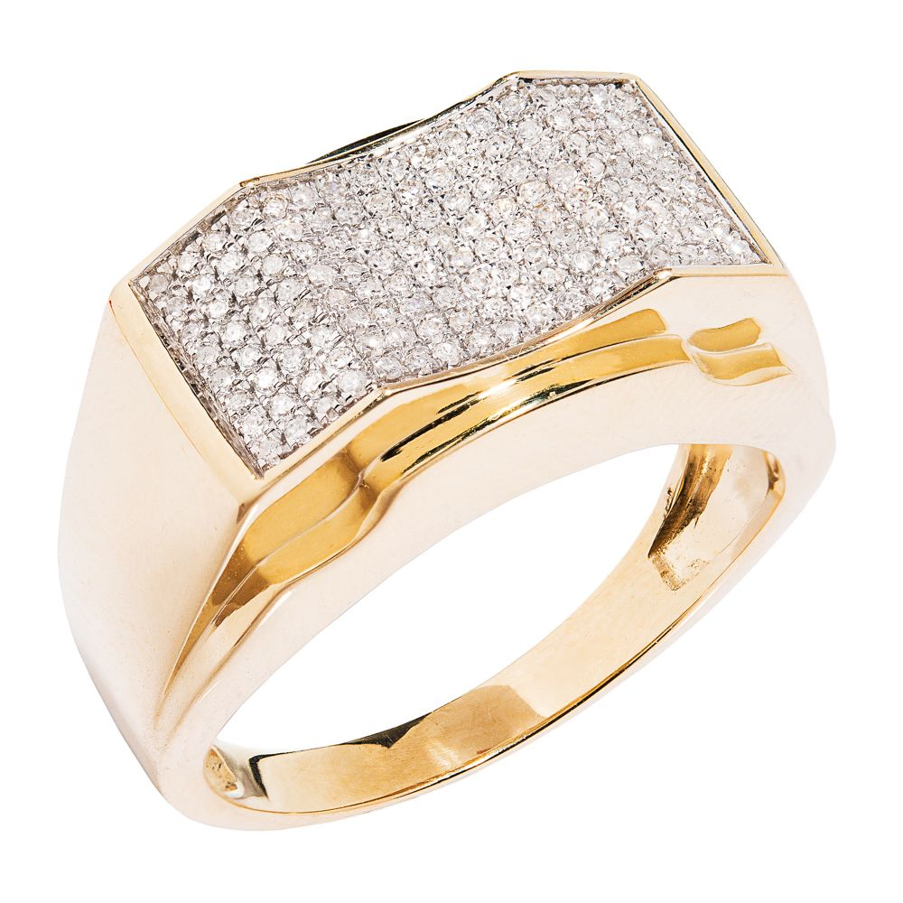 my diamond jewelry box: diamond men's right hand ring | men wear
