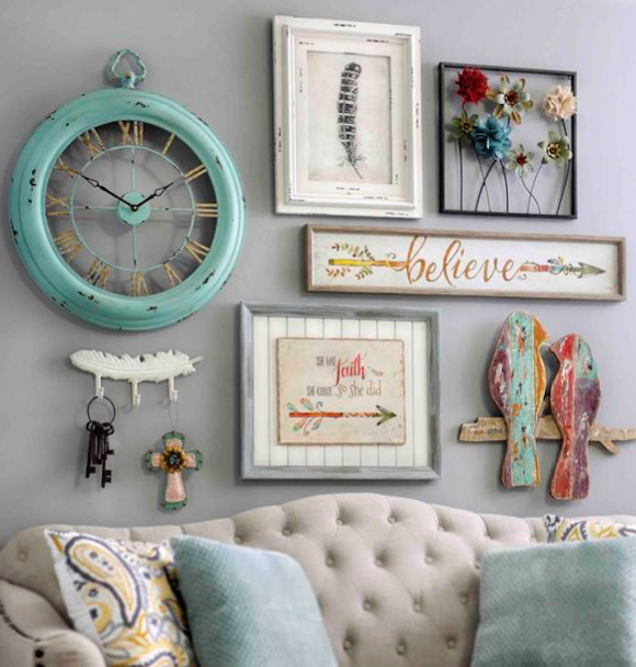 Bring A Shabby Chic Charm To Your Home By Adding Pieces Of