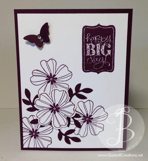 "2014 In Colors Stampin Up: Stampin' Up! 2014-2016 ""in-color"" Blackberry Bliss. Using"