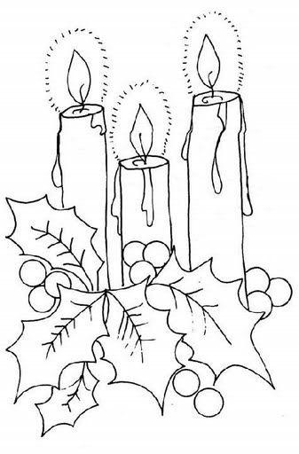 dibujos de navidad en vitral - Buscar con Google Dibujos - navidad para colorear