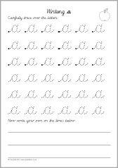 writing letters formation worksheets cursive sb7999 sparklebox classroom writing. Black Bedroom Furniture Sets. Home Design Ideas