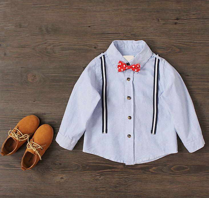 Encontre mais Camisas Informações sobre Chegada nova Meninos Moda Camisas Do Bebê Meninos Camisas Com…