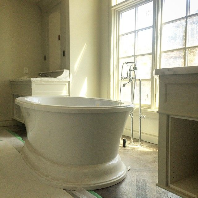 Pretty pretty things going on today in Elbow Park {12th} master bathroom.
