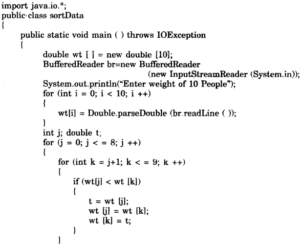 Computer Applications Class 9 Icse Solutions