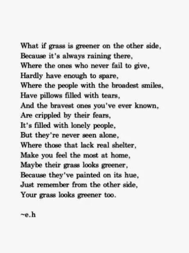 I Love this poem It has an excellent point Donu0027t worry about - define excellent