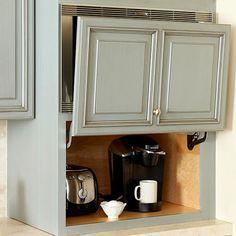 Kitchen Liance Storage Ideas