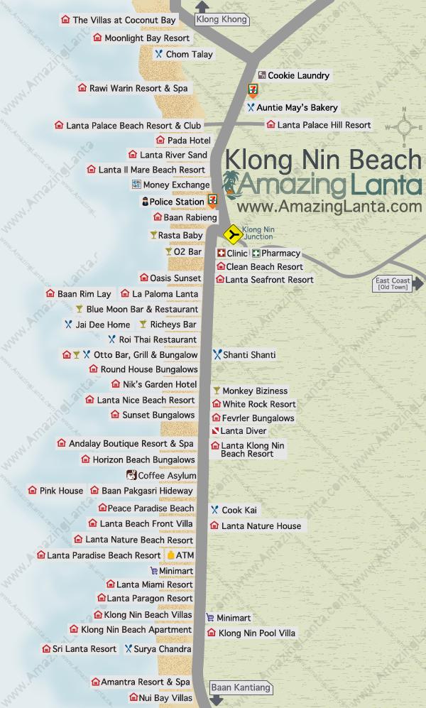 Klong Nin Beach Koh Lanta Amazing Lanta Thaimaa 2015 Pinterest