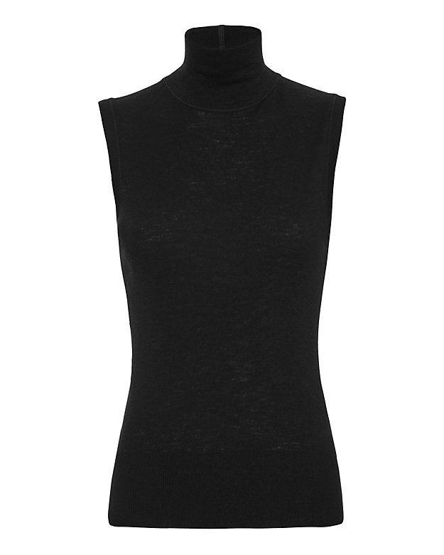 rag & bone Briony Knit Turtleneck: Black | Shop IntermixOnline.com