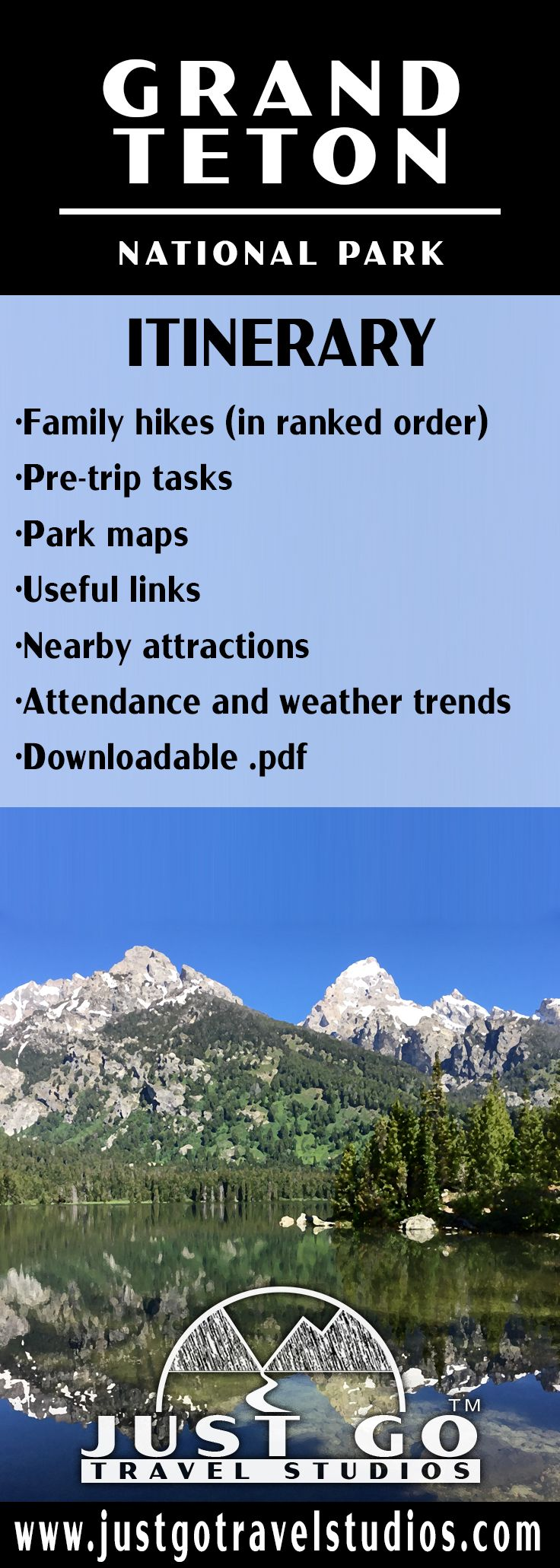 Grand Teton National Park Itinerary #vacationlooks