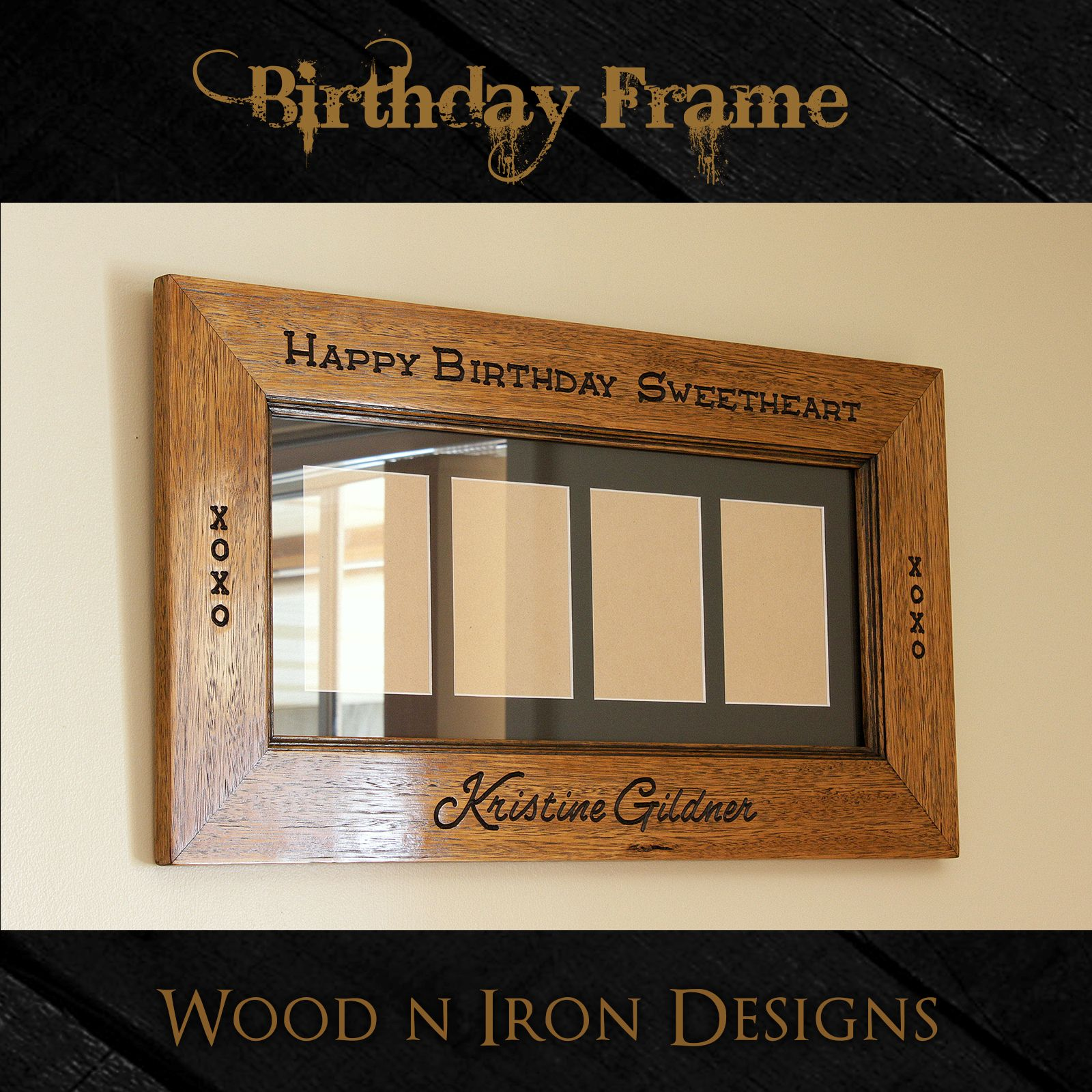 Birthday Name Frame
