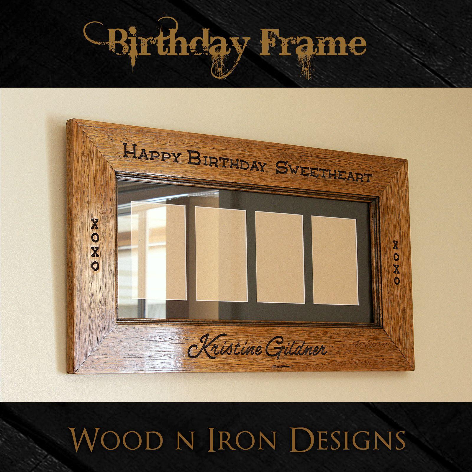Birthday Name Frame