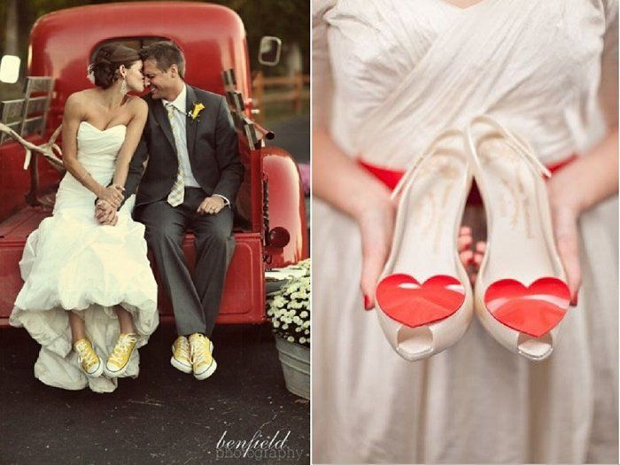 Coloured Wedding Shoes Would You Dare