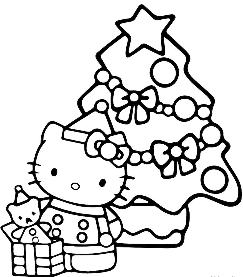 ▷ 1001 + idées | Coloriage de Noël – pour des fêtes pleines de