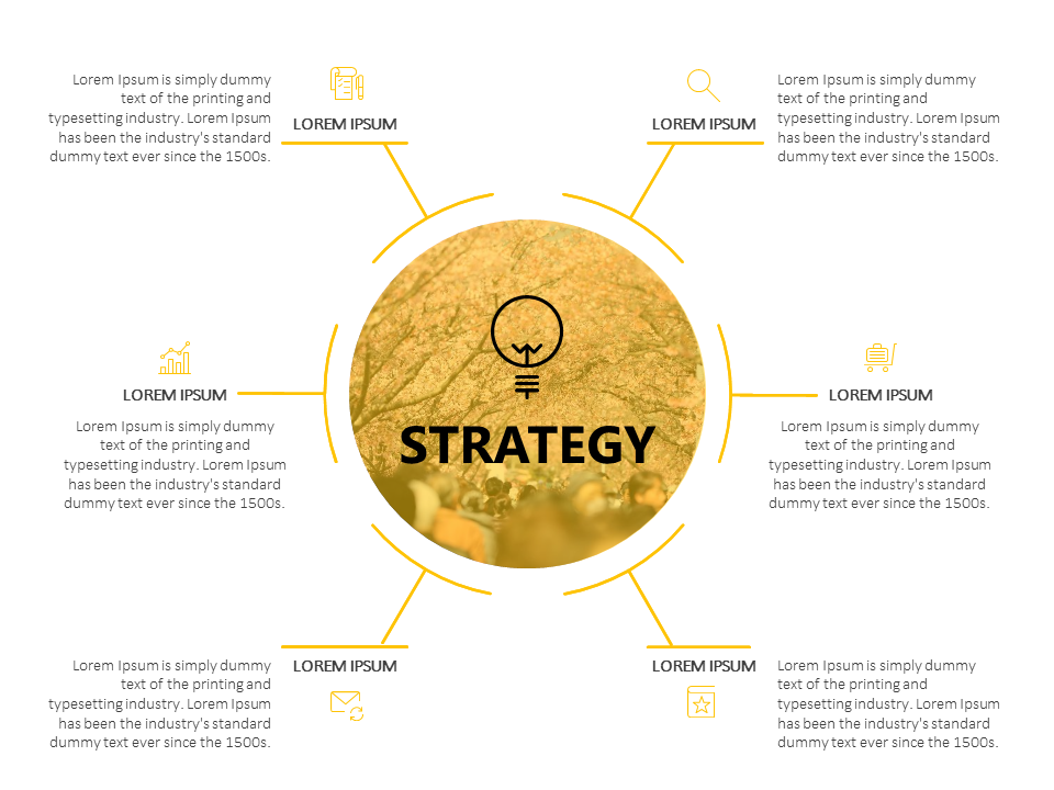 Strategy presentation slide projectmanagement