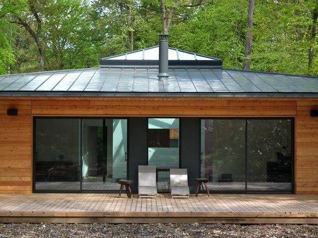 Penser construire une maison rt 2012 en ossature bois en basse normandie 14 toiture zinc for Construire sa toiture