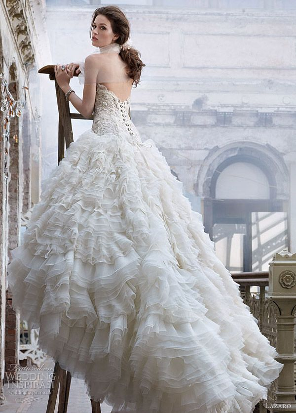 Lazaro Wedding Dresses Spring 2012 | Wedding dress, Ruffles and Gowns